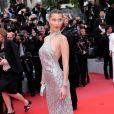 Bella Hadid - Montée des marches du film «Blackkklansman» lors du 71ème Festival International du Film de Cannes. Le 14 mai 2018 © Borde-Jacovides-Moreau/Bestimage