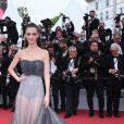Charlotte Le Bon (Robe Dior Haute-Couture) - Montée des marches du film «Blackkklansman» lors du 71ème Festival International du Film de Cannes. Le 14 mai 2018 © Borde-Jacovides-Moreau/Bestimage