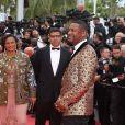 Isabel dos Santos, Sindika Dokolo et Chris Tucker - Montée des marches du film «Blackkklansman» lors du 71ème Festival International du Film de Cannes. Le 14 mai 2018 © Borde-Jacovides-Moreau/Bestimage