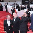 Jean-Paul Rappeneau, Vincent Perez - Montée des marches du film «Blackkklansman» lors du 71ème Festival International du Film de Cannes. Le 14 mai 2018 © Borde-Jacovides-Moreau/Bestimage
