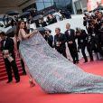 Sonia Ben Ammar - Montée des marches du film «Blackkklansman» lors du 71ème Festival International du Film de Cannes. Le 14 mai 2018 © Borde-Jacovides-Moreau/Bestimage