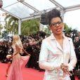 Audrey Pulvar - Montée des marches du film «Blackkklansman» lors du 71ème Festival International du Film de Cannes. Le 14 mai 2018 © Borde-Jacovides-Moreau/Bestimage