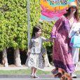 Exclusif - Jennifer Love Hewitt est allée chercher sa fille Autumn à son école à Los Angeles, le 28 mars 2018.