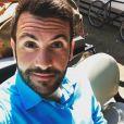 """Laurent Ournac, alias Tom, dans la série """"Camping Paradis"""". Instagram, le 12 avril 2017."""