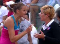 Karolina Pliskova, son gros pétage de plombs : La joueuse explose et dérape