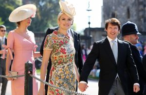 Mariage royal : James Blunt et Sofia Wellesley main dans la main à Windsor