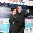 """Béatrice et Thierry Ardisson, lors de la soirée """"OSS 117"""", avec avant-première du film au Gaumont Opéra, puis fête au VIP Room Theatre, le 7 avril 2009 !"""