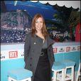"""Léa Drucker, lors de la soirée """"OSS 117"""", avec avant-première du film au Gaumont Opéra, puis fête au VIP Room Theatre, le 7 avril 2009 !"""