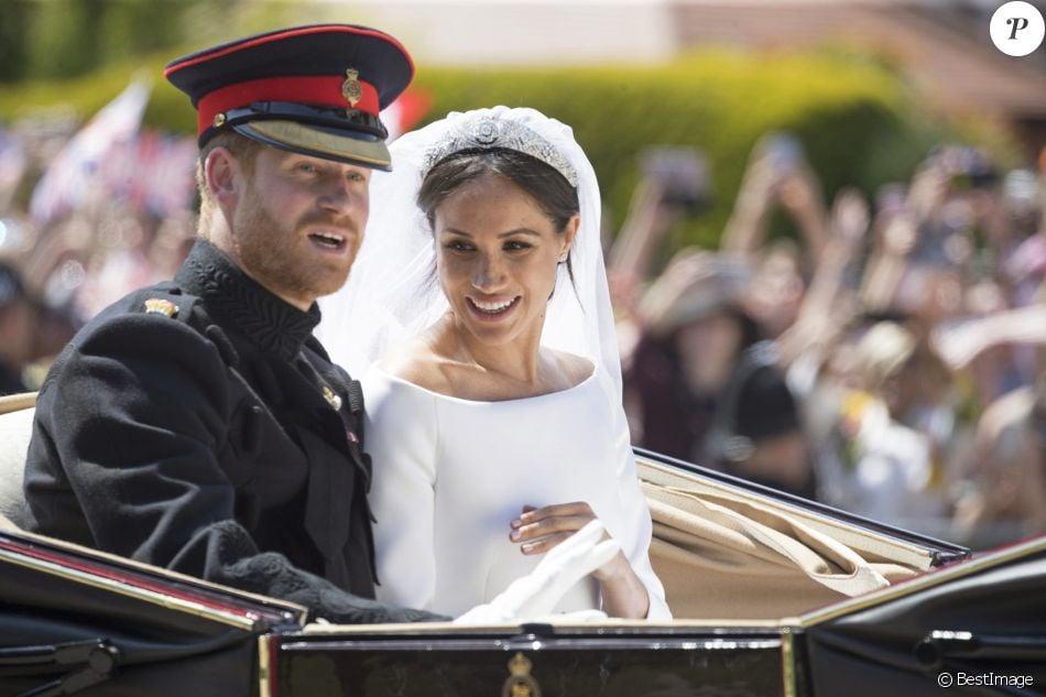 Le prince Harry, duc de Sussex, et Meghan Markle, duchesse de Sussex,