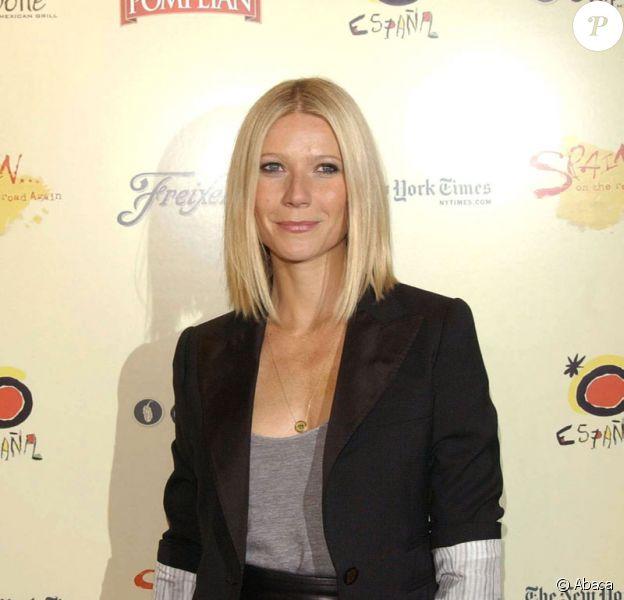 La comédienne américaine Gwyneth Paltrow