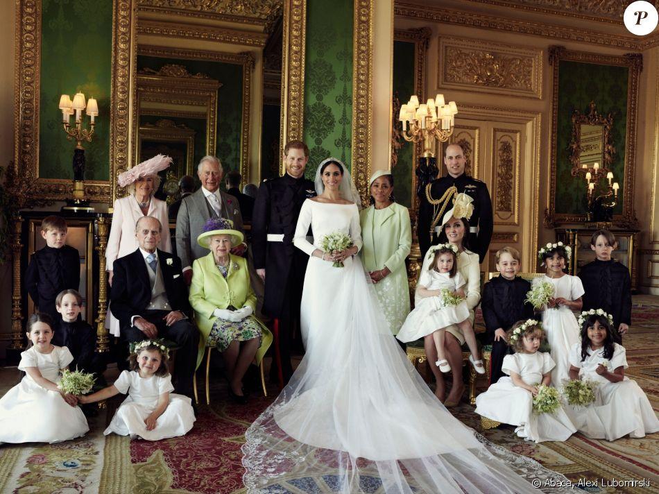 Le prince Harry et la duchesse Meghan de Sussex (Meghan Markle), photo  officielle