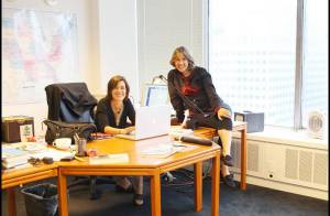 Alexia Laroche-Joubert et sa mère : une relation complice qui va les pousser... à travailler ensemble !