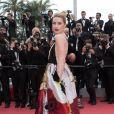 Amber Heard (bijoux de Grisogono) - Montée des marches du film «Plaire, aimer et courir vite» lors du 71ème Festival International du Film de Cannes. Le 10 mai 2018 © Borde-Jacovides-Moreau/Bestimage