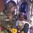 Taylor Swift et le fils d'Amber Rose et Wiz Khalifa, Sebastian. Mai 2018.