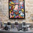 Semi-exclusif - Soirée de lancement de l'appareil photo Instax SQ6 de Fujifilm à l'Instax Square House à Paris le 24 mai 2018.