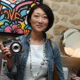 Semi-exclusif - Fleur Pellerin - Soirée de lancement de l'appareil photo Instax SQ6 de Fujifilm à l'Instax Square House à Paris le 24 mai 2018.