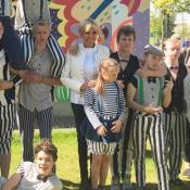 Brigitte Macron, en Russie, s'improvise danseuse de cirque !