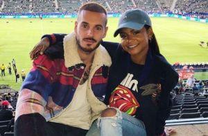 M. Pokora toujours très amoureux : Soirée foot avec Christina Milian