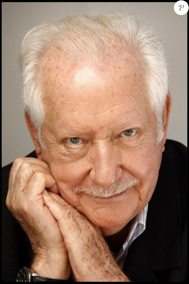 Portrait de Pierre Bellemare en 2010.