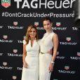 Bella Hadid et Geri Halliwell - Soirée Tag Heuer en marge du 73e Grand Prix de Formule 1 de Monaco, le 26 mai 2018 © Bruno Bebert