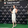 Bella Hadid - Soirée Tag Heuer en marge du 73e Grand Prix de Formule 1 de Monaco, le 26 mai 2018 © Bruno Bebert