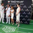 Tom Brady, Daniel Ricciardo, Geri Halliwell et Bella Hadid - Soirée Tag Heuer en marge du 73e Grand Prix de Formule 1 de Monaco, le 26 mai 2018 © Bruno Bebert