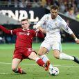 Cristiano Ronaldo lors du match Real Madrid - Liverpool FC en finale de la Champions League. Kiev, le 26 mai 2018.