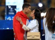 Cristiano Ronaldo : Baisers de la victoire avec Georgina et son fils
