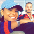 Matt Pokora et Christina Milian s'affichent sur Instagram, ce 28 mai 2018.