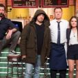 Alexandre Astier dans les coulisses de Burger Quiz, le 27 mai 2018.