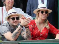 Jeff Panacloc : Rare sortie avec sa femme Charlotte à Roland-Garros