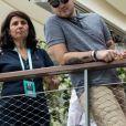 Jeff Panacloc au village lors des internationaux de France de tennis de Roland Garros, Jour 4, à Paris le 30 mai 2018. © Cyril Moreau / Dominique Jacovides / Bestimage