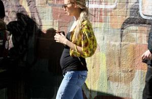 Nicole Richie en famille nous montre enfin son ventre rond !