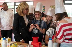 Brigitte Macron : Une première dame toujours engagée pour les bonnes causes