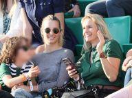 Estelle Lefébure : Sortie en famille à Roland-Garros