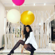 Julie Ricci fête son anniversaire - 1er juin 2018, Instagram