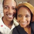 DuShon Monique Brown avec Brian White en juillet 2015, photo Instagram. L'actrice de la série Chicago Fire est morte le 23 mars 2018 à 49 ans.