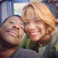 DuShon Monique Brown avec Eammon Walker, photo Instagram septembre 2017. L'actrice de la série Chicago Fire est morte le 23 mars 2018 à 49 ans.
