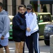 Week-end au soleil pour Nicolas et Carlita... en mode sport !