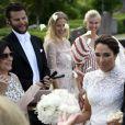 Louise Gottlieb, amie d'enfance de la princesse Madeleine de Suède, et Gustav Thott ont célébré leur mariage à Hölö au sud de Stockholm le 2 juin 2018.