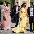 La princesse Victoria de Suède, Le prince Daniel de Suède, La princesse Sofia de Suède, Le prince Daniel de Suède, - La famille royale de Suède au Mariage de Louise Gottlieb à l'église Hölö à Stockholm en Suède. Le 2 juin 2018  Louise Gottlieb's wedding in Hölö church, Sweden, 2018-06-02 - Royal Family of Sweden02/06/2018 - Stockholm