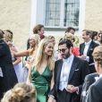 Clara Hellencreutz, Fares Fares au mariage de Louise Gottlieb et Gustav Thott à Hölö au sud de Stockholm le 2 juin 2018.