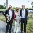 Anders Aje Philipson au mariage de Louise Gottlieb et Gustav Thott à Hölö au sud de Stockholm le 2 juin 2018.