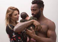 Ariane Brodier, maman fière : Son fiston déjà sportif comme son papa ?