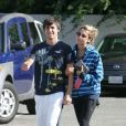 Ashley Tisdale et Jared Murillo en juillet 2008