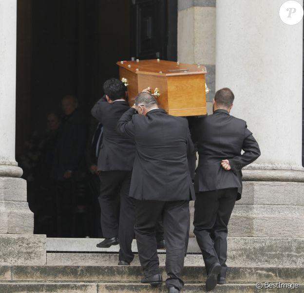Obsèques de Paulette Coquatrix au crématorium du Père-Lachaise à Paris. Le 5 juin 2018
