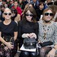 """Alma Jodorowsky, Lily Allen, Carla Bruni Sarkozy, Yasmin Le Bon - People au défilé de mode automne-hiver 2018/2019 """"Chanel"""" au Grand Palais à Paris le 6 mars 2018."""