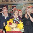 Anniversaire de Françoise Ménidrey, le 10 avril 2009, au Réservoir