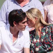 Roland-Garros 2018 : Alain-Fabien Delon proche de la petite-fille d'une icône