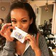 Mishael Morgan, l'actrice des Feux de l'amour, sur Instagram. Juin 2017.